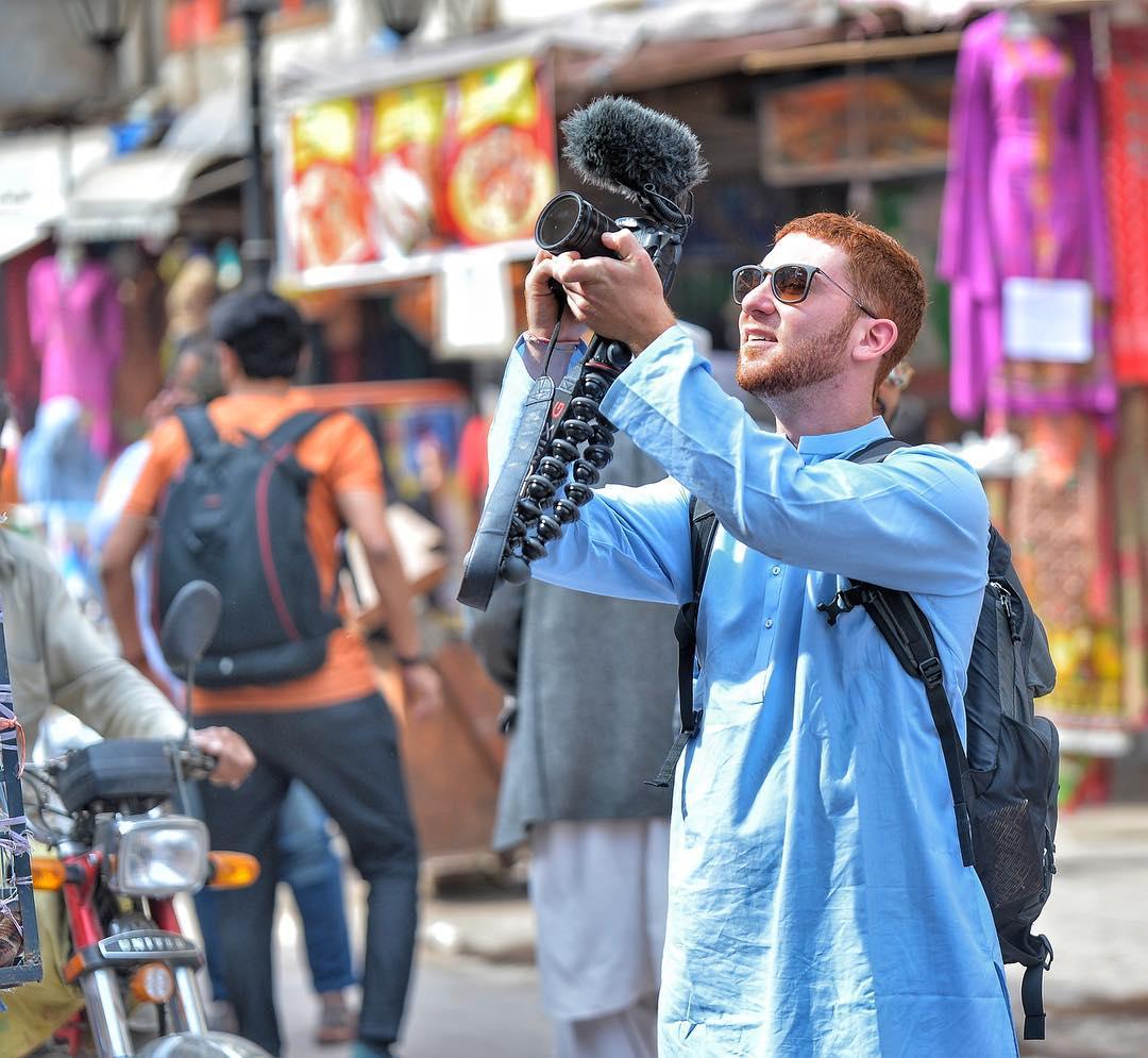 drew binsky in pakistan photo drew binsky instagram