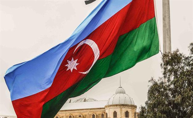 flag of azerbaijan photo afp