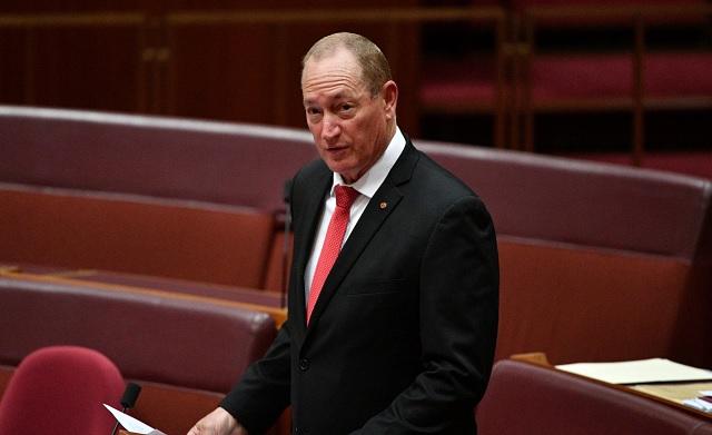 australia party senator fraser anning photo reuters