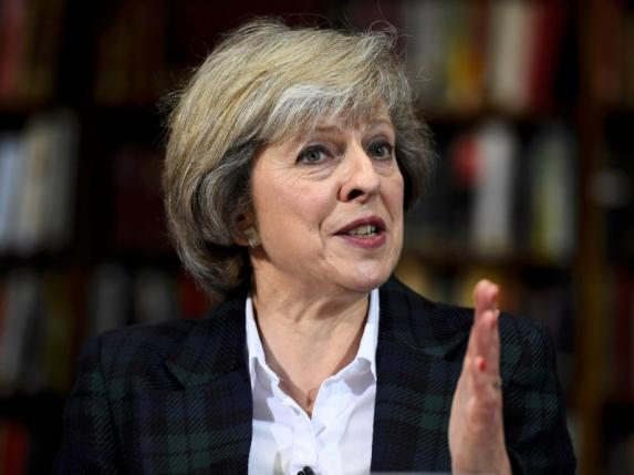 prime minister theresa may photo reuters file