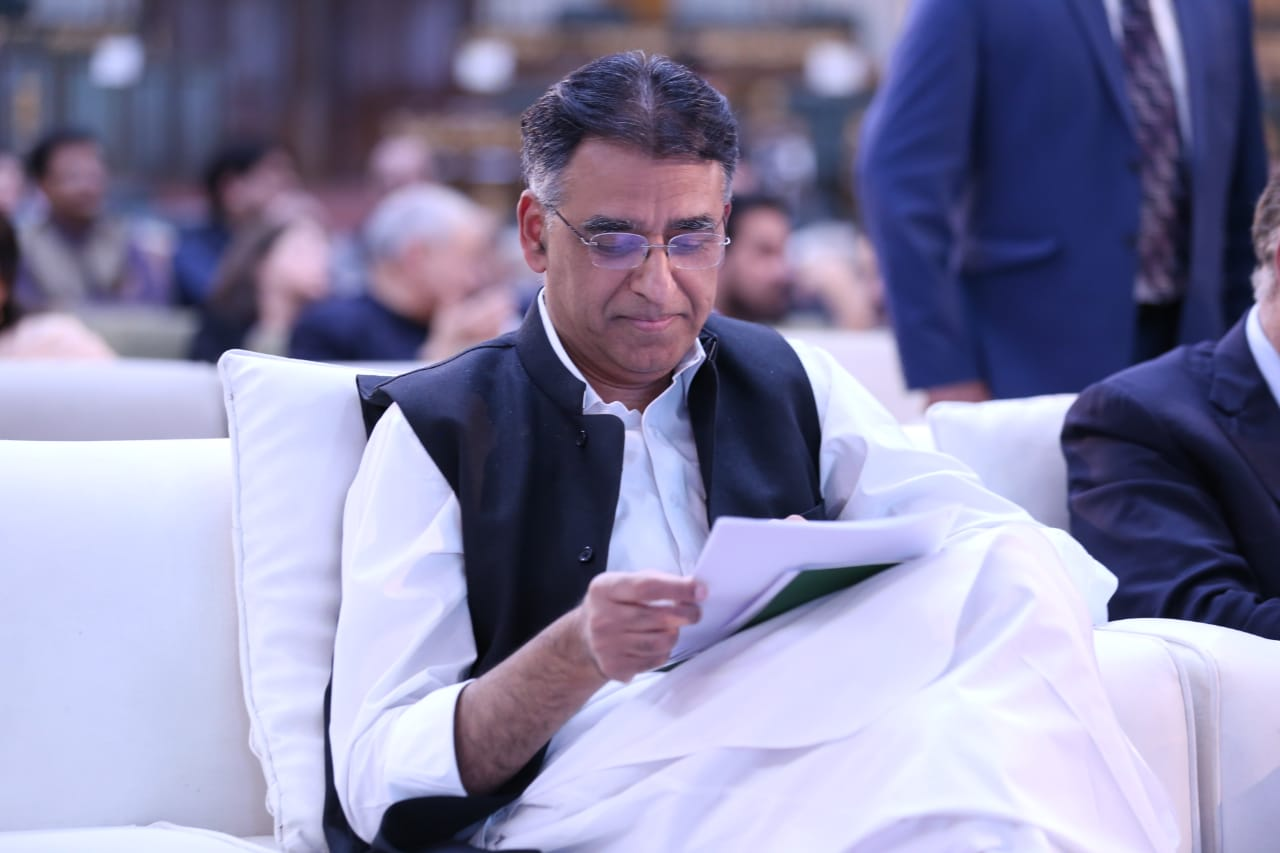 Finance Minister Asad Umar. PHOTO: PTI