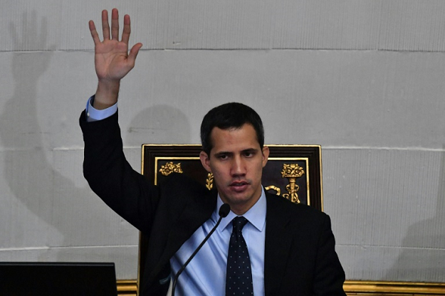 venezuela 039 s national assembly head and self proclaimed acting president juan guaido photo afp