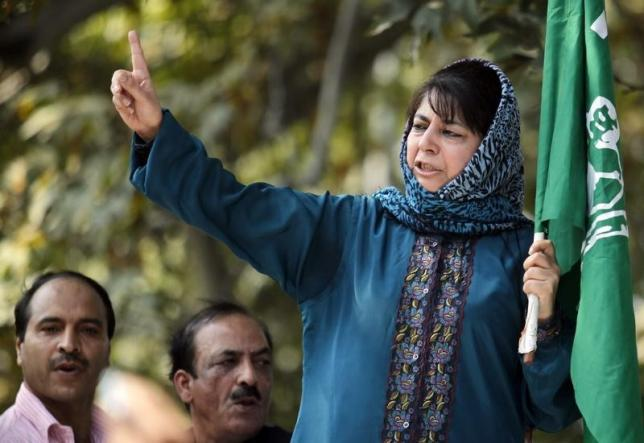 a file photo of mehbooba mufti reuters