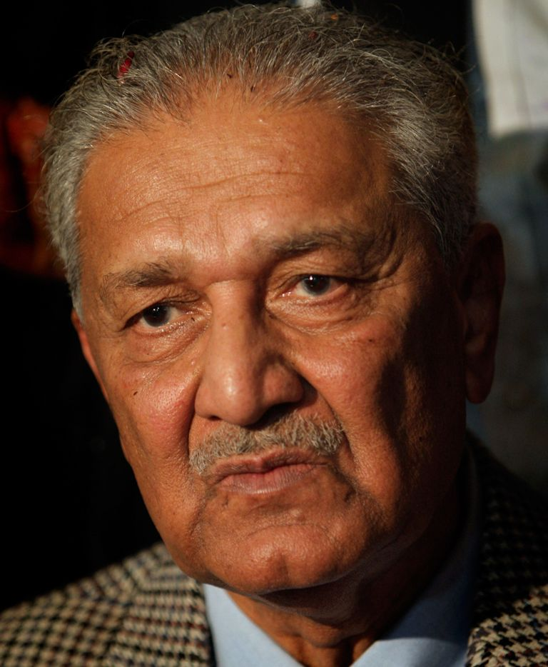 dr abdul qadeer khan photo afp