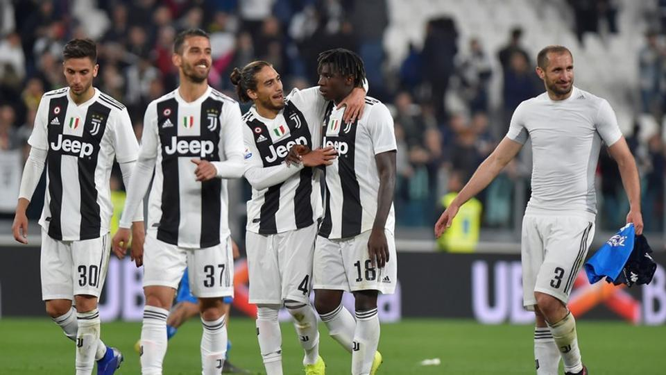 the turin giants have an 18 point advantage on napoli and have won both their direct clashes with carlo ancelotti 039 s side this season photo afp