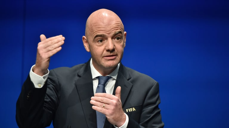the reconfigured club world cup which would be played once every four years would feature eight clubs from europe six from south america as well as three each from asia africa and concacaf photo reuters
