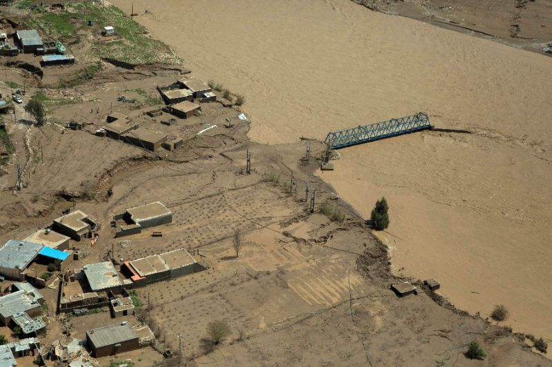 iran has been hit by major floods across most of the country since march photo afp