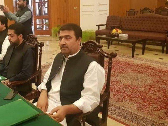 balochistan finance minister arif jan muhammad hassani photo file