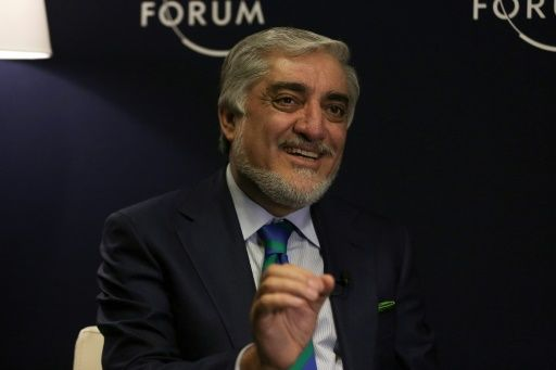 afghanistan 039 s chief executive abdullah abdullah photo afp