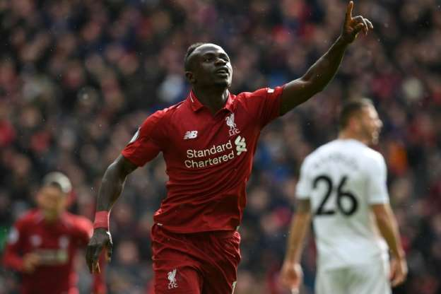 mane assumed the mantle as chief goal getter with 11 in his last 13 liverpool appearances taking his tally for the season to 20 photo afp