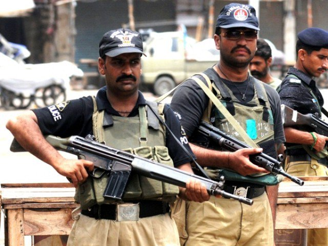 file photo of sindh police photo afp file