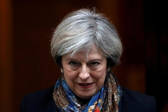 prime minister theresa may has asked for a delay until june 30 photo reuters