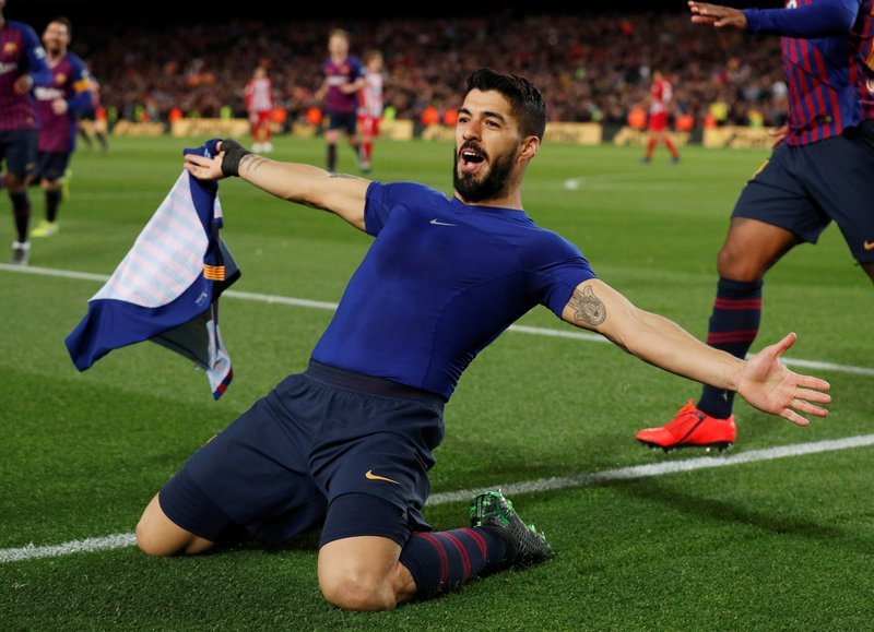 barca s both forwards have 66 goals in all competitions this season 43 for messi and 23 for suarez while in the league they have 53 more than every team in the division except real madrid photo afp