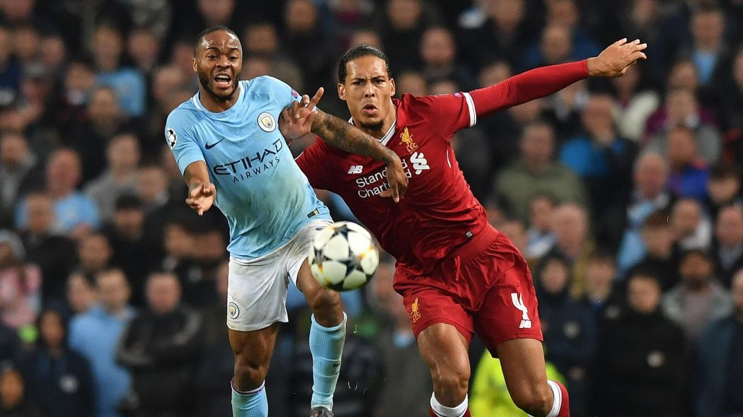 van dijk is one of the favourites for the award after helping liverpool deliver a sustained premier league title challenge while sterling has scored 15 league goals for city their rivals for the league crown photo reuters