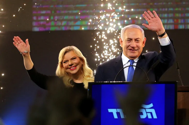 the close and often vitriolic contest was widely seen in israel as a referendum on netanyahu s character photo reuters