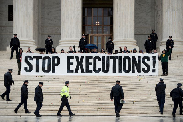 039 slowly but steadily global consensus is building towards ending the use of the death penalty 039 photo afp