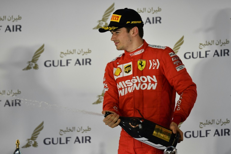 unlucky the focus in shanghai will be on leclerc the ferrari rookie from monaco who fully deserved victory two weeks ago but had to settle for the first podium of his career photo afp