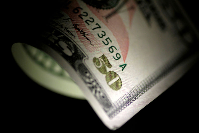 a us dollar note is seen in this reuters illustration photo