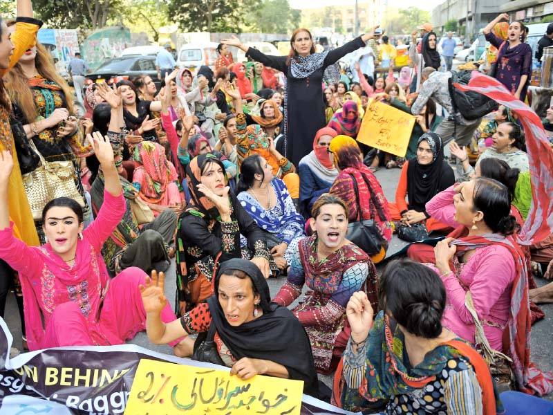 transgender persons demand 2 quota in sindh s public sector jobs