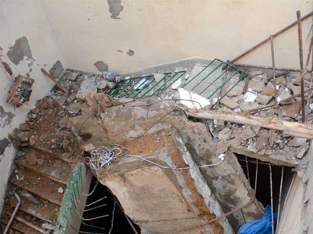 Young boy dies as roof collapses PHOTO: FILE