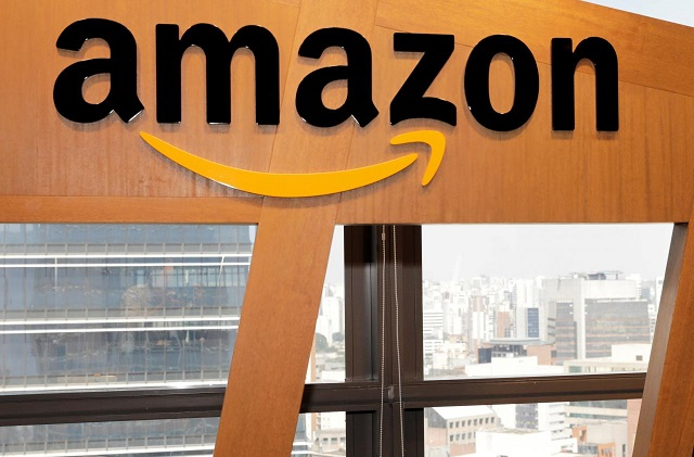 the logo of amazon is seen in sao paulo brazil october 17 2017 photo reuters