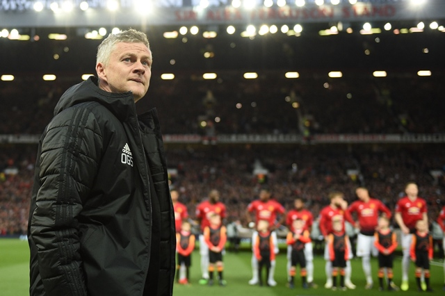 luke shaw 039 s early own goal was all that separated the sides on the scoresheet but barca comfortably edged towards a first champions league semi final in four years as united failed to register a single shot on target photo afp