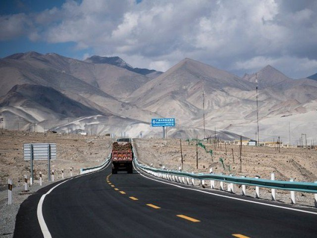 cpec route photo reuters