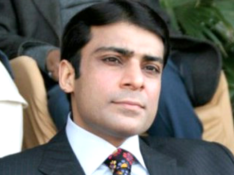 PML-N MNA Hamza Shahbaz. PHOTO: FILE