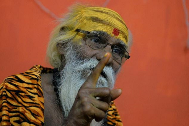 indian priest fakkad baba keeps running for election because his guru has predicted victory will come on his 20th attempt photo afp