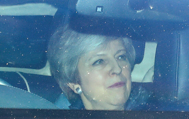 britain 039 s prime minister theresa may leaves the houses of parliament as uncertainty over brexit continues in london britain april 11 2019 photo reuters