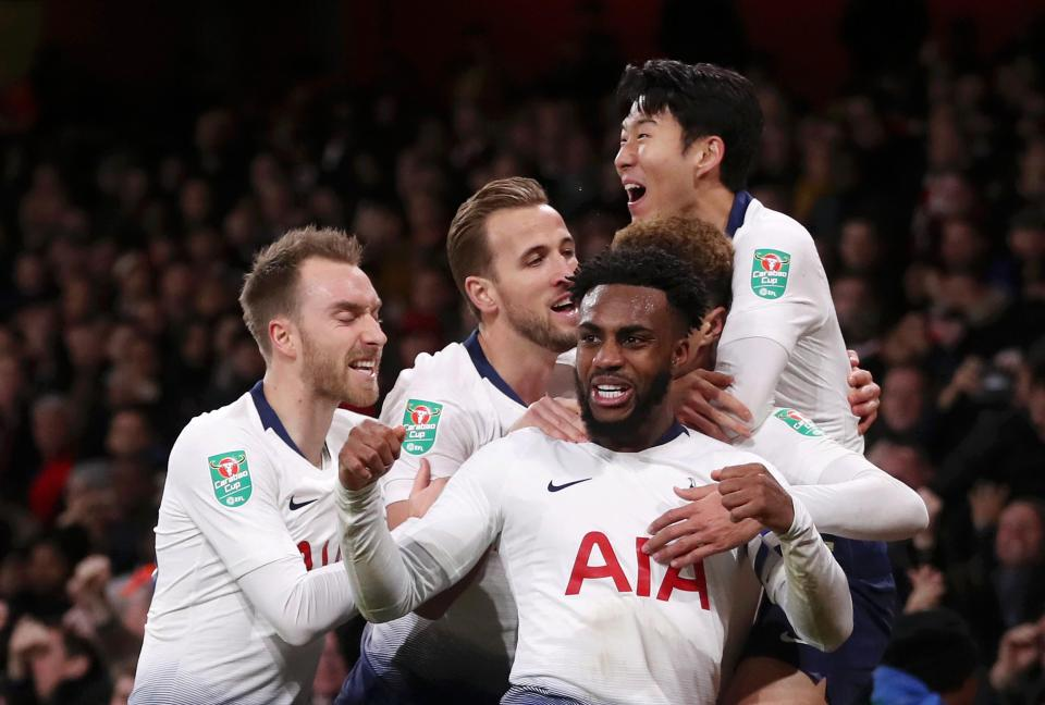 south korea forward son did not take long to prove tottenham aren 039 t a one man team as he hit the winner against city after kane went off photo afp