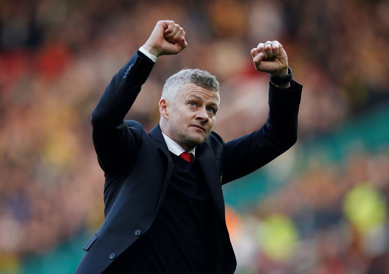before last week 039 s league defeat at wolves solskjaer broke from type and issued a points target for his team    15 from their then remaining seven fixtures photo afp