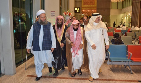 abdullah awad al juhany arrived in islamabad on thursday and will hold meetings with pm president and coas photo courtesy arab news
