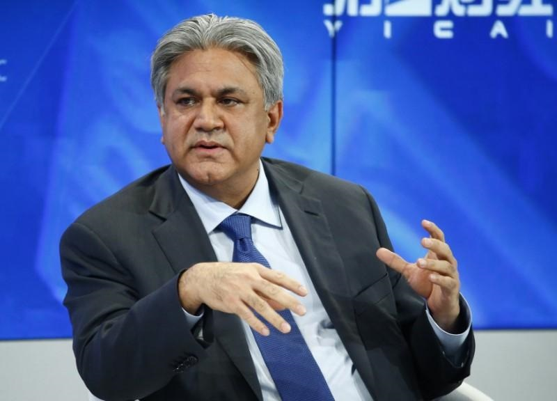 a file photo of arif naqvi photo reuters