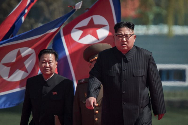 kim said he would wait until the end of the year quot for the us to make a courageous decision quot on another meeting photo afp