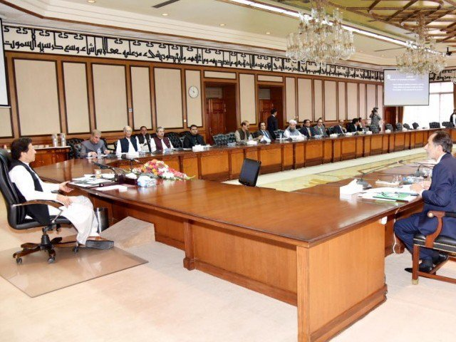 a file photo of pm imran khan chairing a federal cabinet meeting photo pti