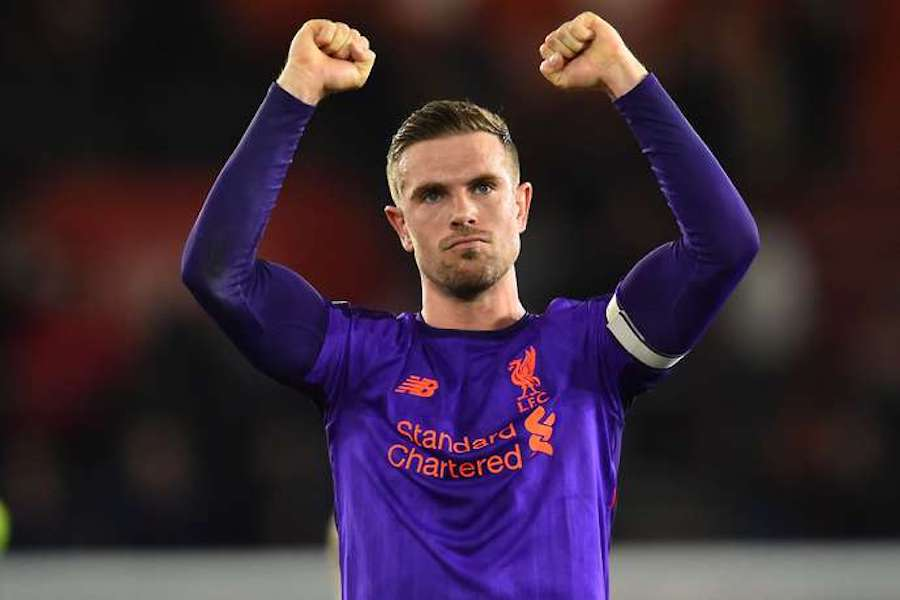 henderson scored his first goal for 17 months in liverpool 039 s 3 1 win at southampton delivered a dynamic show in the 2 0 champions league first leg victory over porto as well photo afp