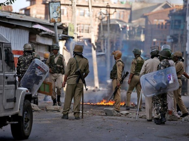 The group says constitutional changes undertaken by the Indian government on Aug. 5, 2019, have bewildered Kashmiris and left them stunned and dumbfounded. PHOTO: REUTERS/FILE