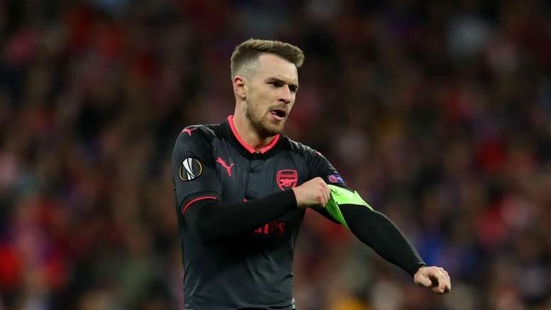 ramsey in italy rehearsal ahead of juventus move