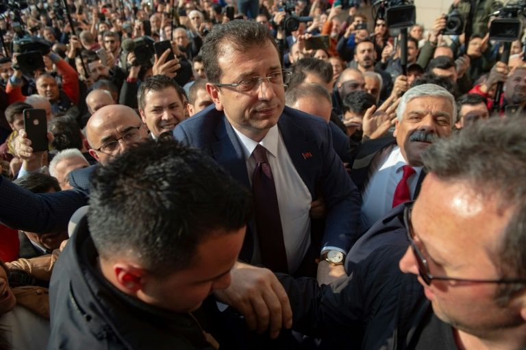 turkey opposition win in disputed istanbul vote confirmed