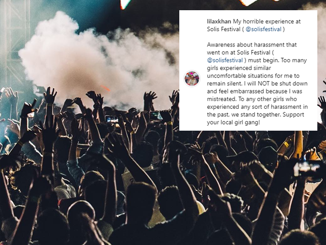 woman calls out solis festival after being physically assaulted