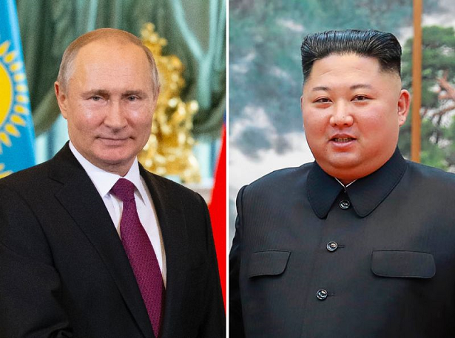 Putin, who has long expressed his readiness to meet with Kim, is gearing up to play a bigger role in nuclear negotiations with Moscow's Cold War-era ally, with which it shares a short border. PHOTO: AFP