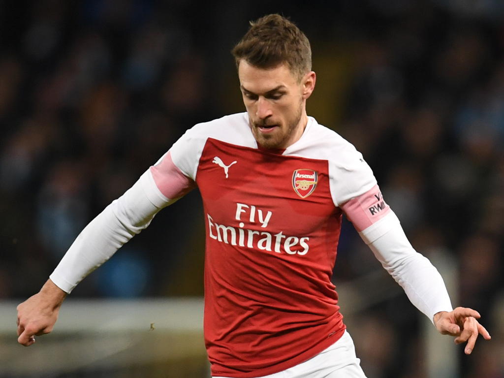 injured ramsey could have played final game for arsenal
