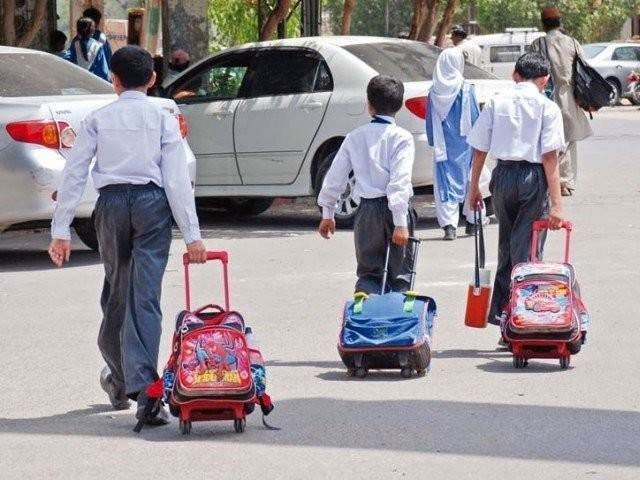 selling overpriced uniform stationery in sindh private schools banned