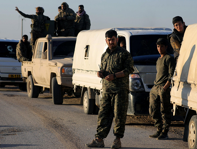islamic state attacks syrian army allies killing dozen