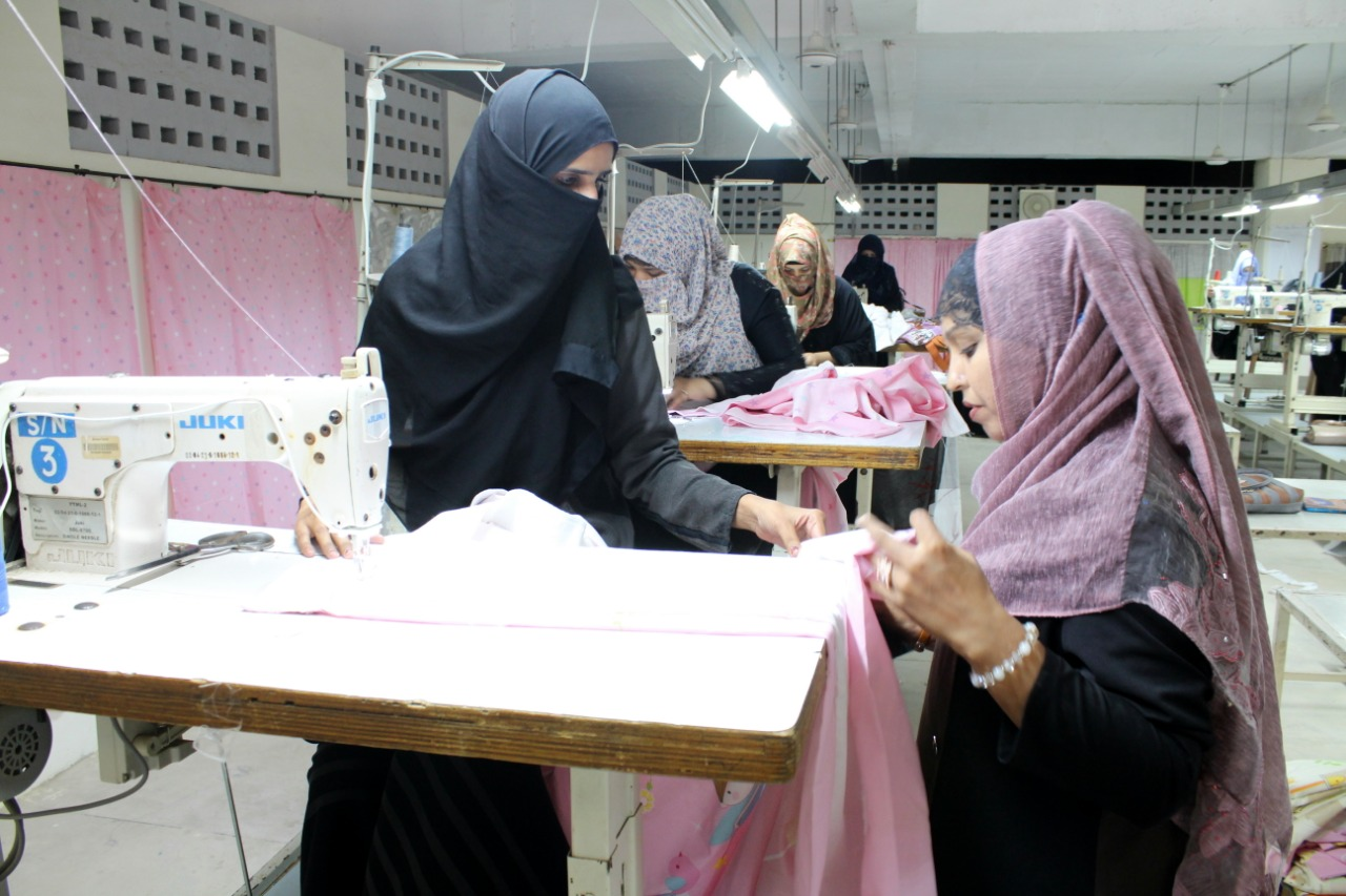 stitching her way to a better life