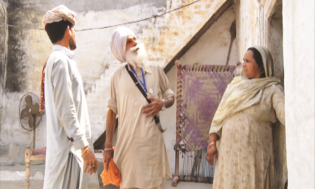 sikh yatree visits birthplace after 70 years