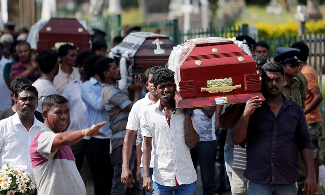 islamic state claims credit for easter sunday bombings in sri lanka