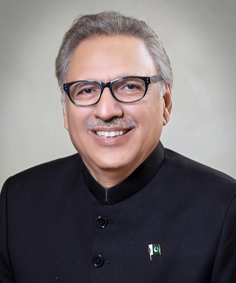 President Arif Alvi. PHOTO: PID