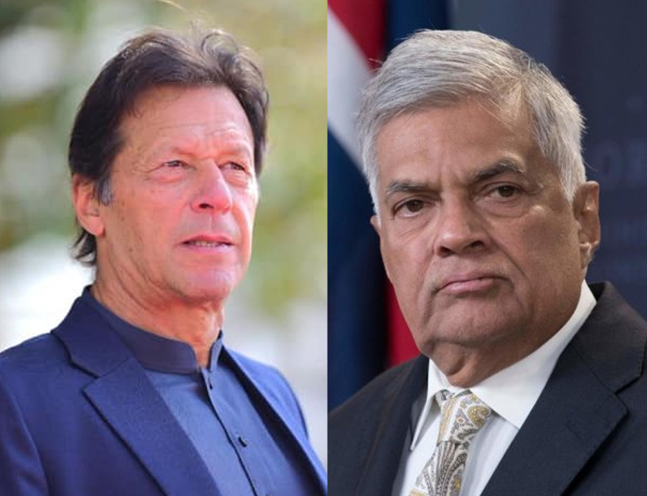 pm imran condoles with lanka premier after easter carnage
